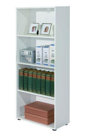 Bibliothèque Parini 4 compartiments - blanc