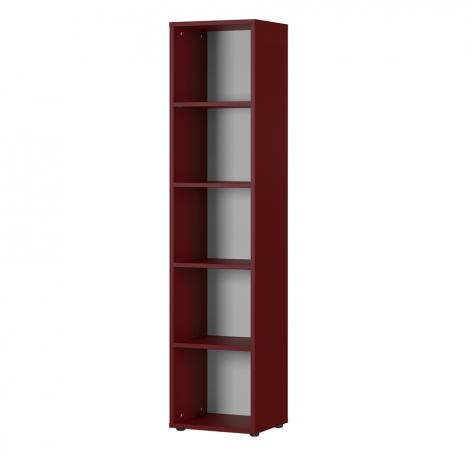 Bibliothèque Osmond 45cm - rouge