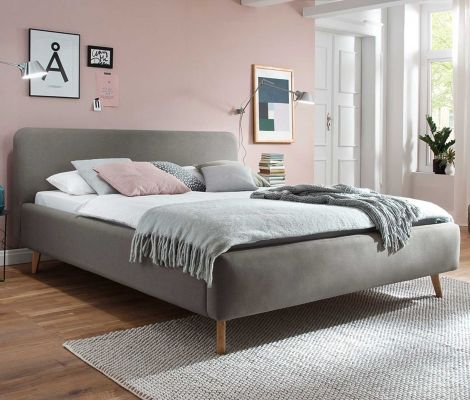 Bed Tony 160x200 - taupe