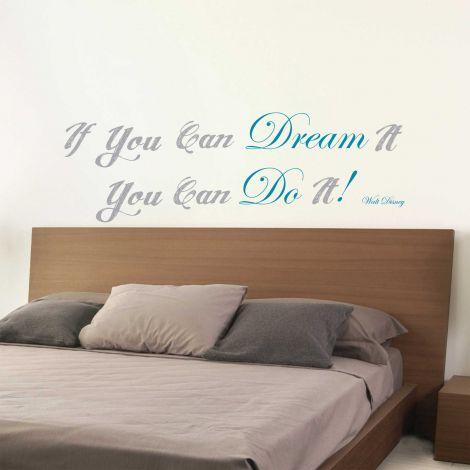 Muursticker Dream & Do it