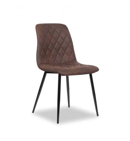 Set van 2 stoelen Maletto - bruin