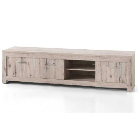 Tv-meubel Poznan 214 cm - eik