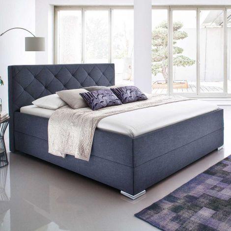 Bed Alia 140x200 - antraciet