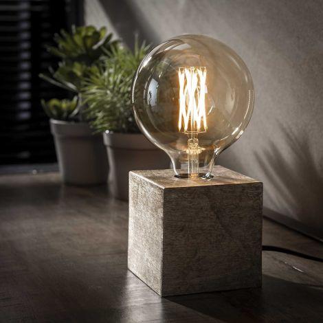 Tafellamp Cubes - nikkel