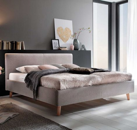 Bed Sem 140x200 - taupe
