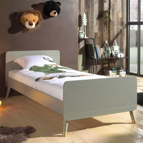 Bed Billy 90x200 - olijfgroen