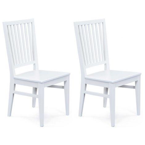 Set van 2 stoelen Cassala - wit