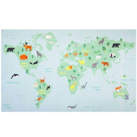 Tapijt World Map