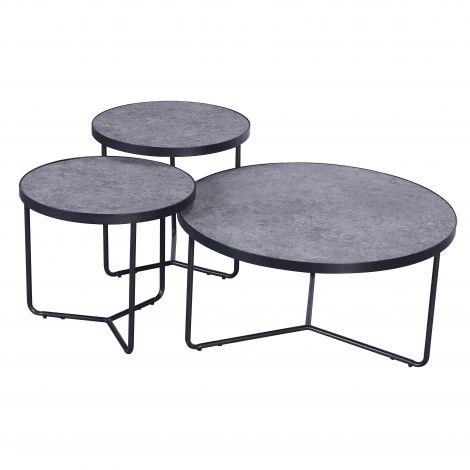 Set van 3 salontafels Simon