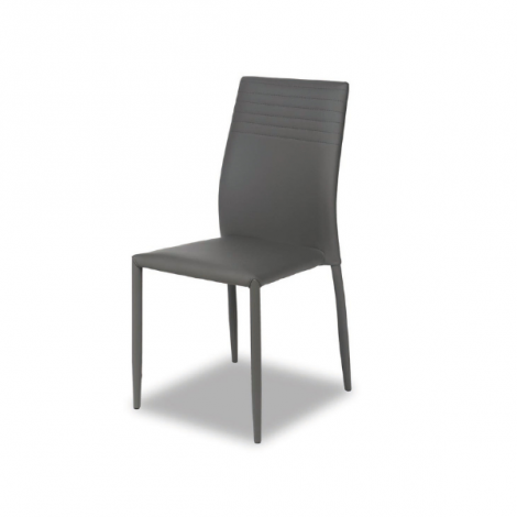Lot de 6 chaises Broadway - gris