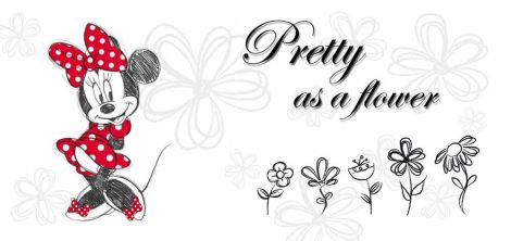 Tableau enfant Minnie - Flower