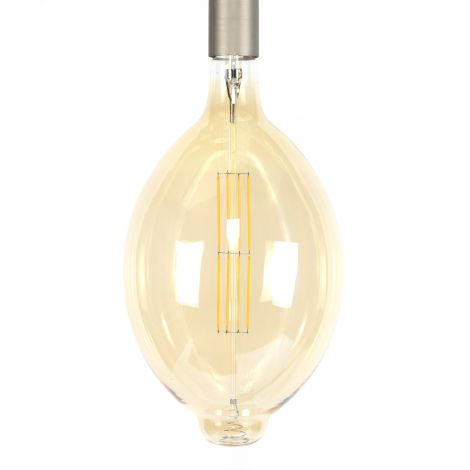 Lichtbron LED filament ovaal - amber