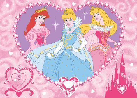 Tapijt Disney Princess - Jewels