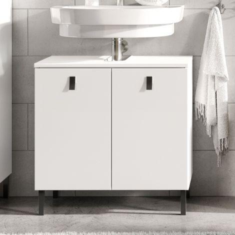 Meuble sous lavabo Tucker 60cm - blanc