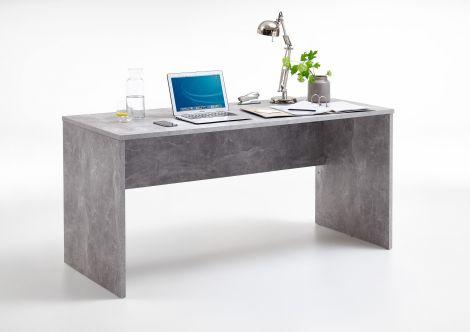 Bureau Brick 160cm - beton