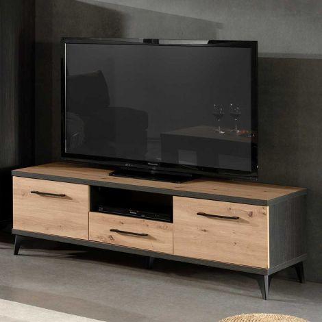 Tv-meubel Lodz 150cm - bruin
