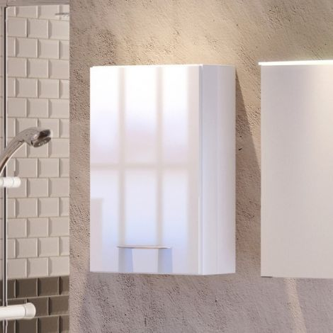 Hangkastje Florent 40cm 1 deur - wit