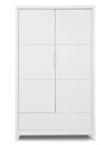 2-deurs kleerkast Quadro White