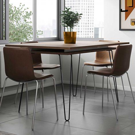 Uitschuifbare tafel Jiro 134/174 - walnoot