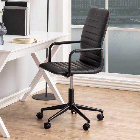 Bureaustoel Windsor - zwart