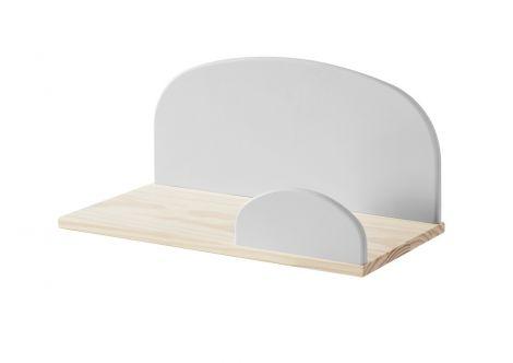 Kiddy hangplank 45 cm - lichtgrijs