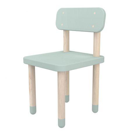 Kinderstoeltje met rugleuning Flexa Play - mintgroen