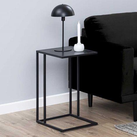 Table d'appoint Dover industriel - noir