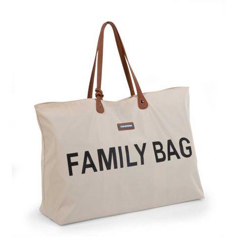 Verzorgingstas Family Bag - ecru/zwart