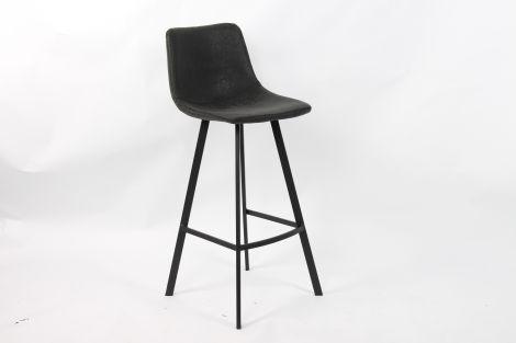 Set van 2 barstoelen Ozan H 65cm - zwart