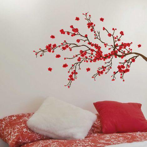 Muursticker Red Ranage - Large