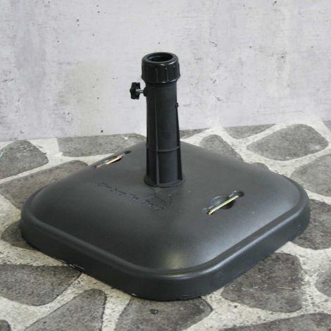 Parasolvoet Wim in beton - 25 kg