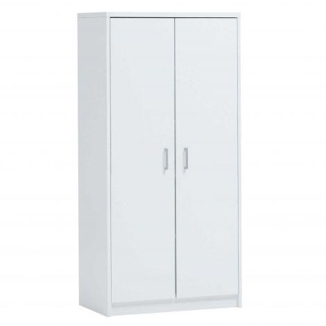 Opbergkast Spacio 2 deuren en 5 legplanken - wit