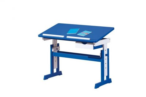 Bureau Dana kantelbaar werkblad - blauw