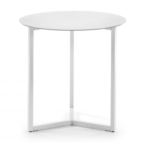 Table d'appoint Raeam - blanc