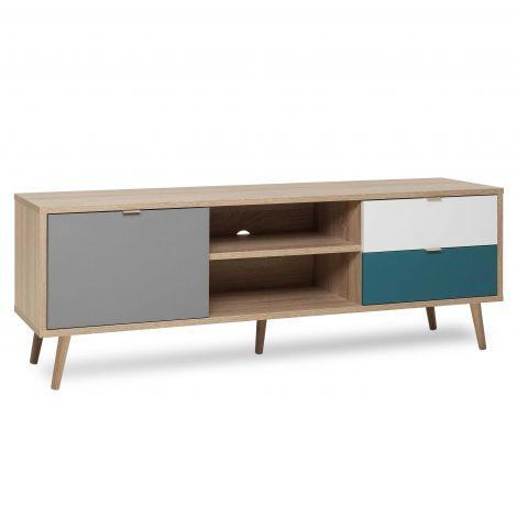 Tv-meubel Cuba 150cm - bruin