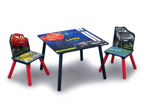 Table et chaises Cars 3