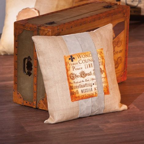 Kussen Kelda - bruin
