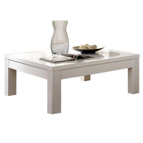 Table basse Roma - blanc