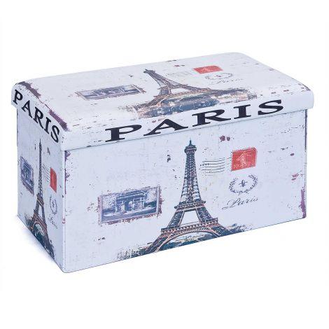 Plooibare poef Setti groot - Paris