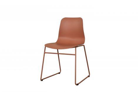 Set van 2 stoelen Marie - bruin
