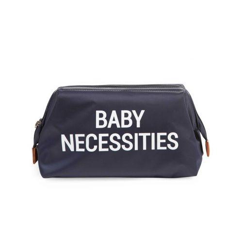 Toilettas Baby Necessities - blauw/wit
