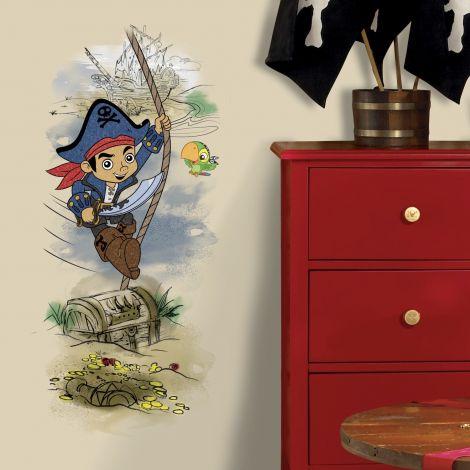 RoomMates muurstickers - Kapitein Jake en de Piratenschat