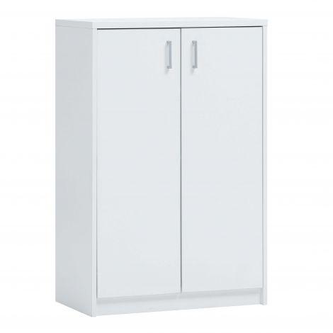 Commode Spacio 2 deuren H 110cm - wit