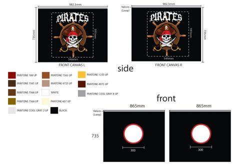 Bedtent Pirates