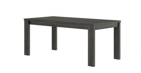 Table à manger extensible Gaston - noir fil/blanc