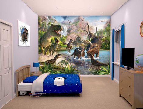 Kinderbehang Dinosaurussen