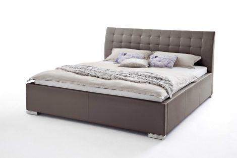 Bed Isa Comfort 200x200cm - bruin