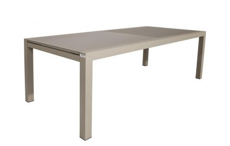 Verlengbare tuintafel Kingstown 220/330 - champagne/taupe
