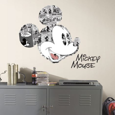 RoomMates muurstickers - Mickey Mouse Comic