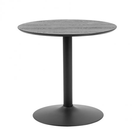 Table à manger Ibbo Ø80 - noir